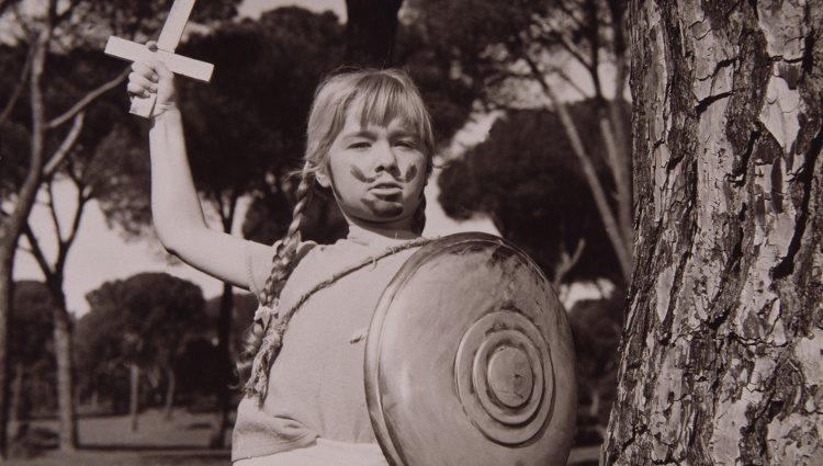 Marisol en el fotograma de una de sus primeras películas