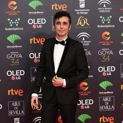 Canco Rodríguez en la alfombra roja de los Goya 2020