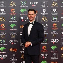 Marc Clotet en la alfombra roja de los Goya 2020