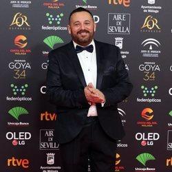 Pepón Nieto en la alfombra roja de los Goya 2020
