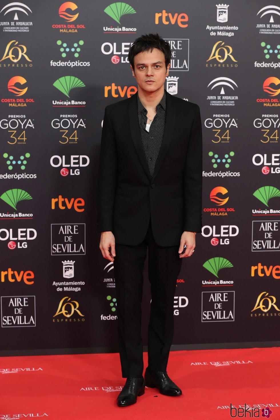 Jamie Cullum en la alfombra roja de los Goya 2020