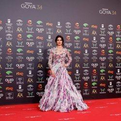 Penélope Cruz en la alfombra roja de los Goya 2020