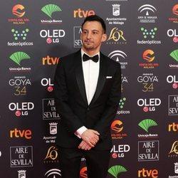 Alejandro Amenábar en la alfombra roja de los Goya 2020
