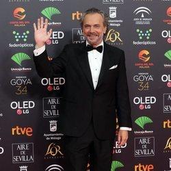 José Coronado en la alfombra roja de los Goya 2020