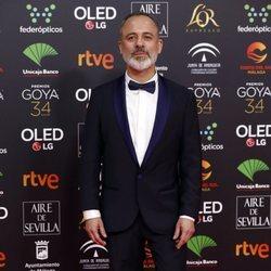 Javier Gutiérrez en la alfombra roja de los Goya 2020