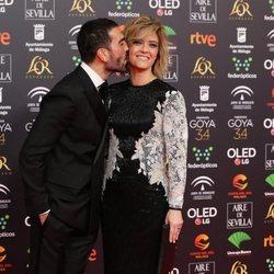 Manuel Zamorano y María Casado en los Goya 2020