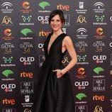 Malena Alterio en la alfombra roja de los Goya 2020