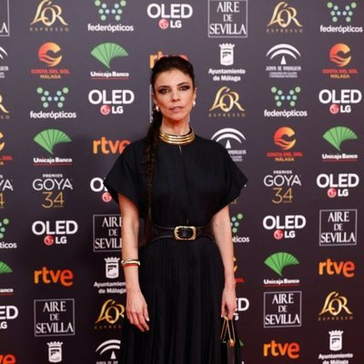 Maribel Verdú en la alfombra roja de los Goya 2020