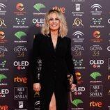 Miriam Díaz Aroca en la alfombra roja de los Goya 2020