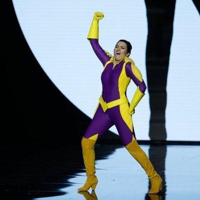 Silvia Abril disfrazada en la gala de los Goya 2020