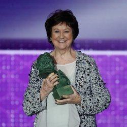 Julieta Serrano recibe el Goya a Mejor Actriz de Reparto
