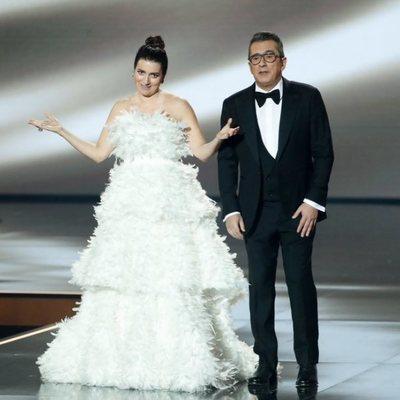Silvia Abril y Andreu Buenafuente en los Goya 2020