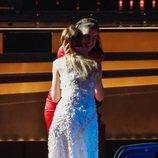 Amaia besa a María Esteve en el homenaje a Marisol en los Goya 2020