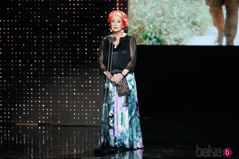 Rosa María Calaf en los Goya 2020