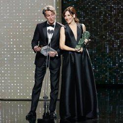 Ernesto Alterio y Malena Alterio en los Goya 2020