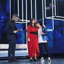 Ariadna y Nick antes de conocer la expulsión en la Gala 2 de 'OT 2020'