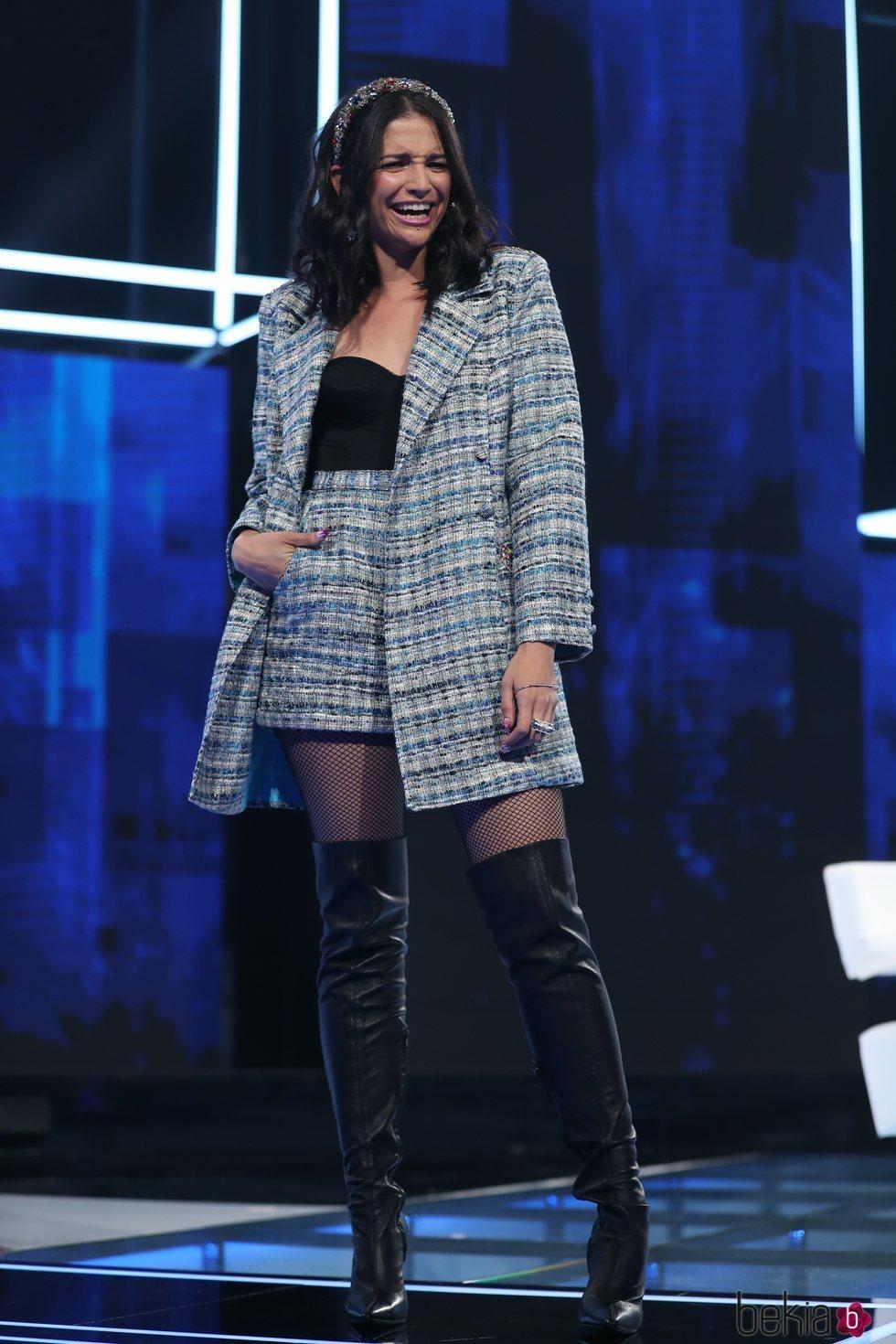 Natalia Jiménez en la Gala 2 de 'OT 2020'