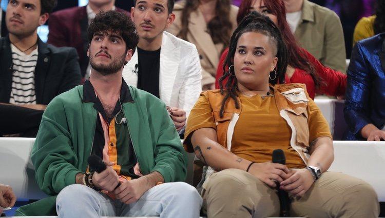 Rafa y Eli, concursantes nominados de la Gala 2 de 'OT 2020'