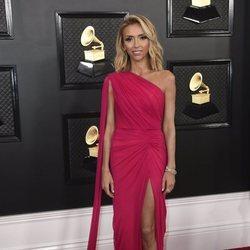 Giuliana Rancic en la alfombra roja de los Premios Grammy 2020