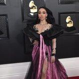 FKA twigs en la alfombra roja de los Premios Grammy 2020