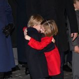 Jacques y Gabriella de Mónaco se abrazan en Santa Devota 2020