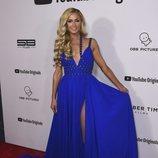 Paris Hilton en la presentación del documental 'Justin Bieber: Seasons'