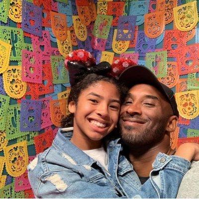 Kobe Bryant con su hija Gigi