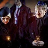 Guillermo Alejandro y Máxima de Holanda en el 75 aniversario de la liberación de Auschwitz-Birkenau