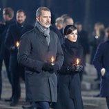 Los Reyes Felipe y Letizia en Auschwitz-Birkenau