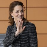 Kate Middleton en un taller para niños en el Evelina London Children's Hospital