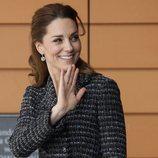 Kate Middleton en un taller para niños en el Evelina London Children's Hospital