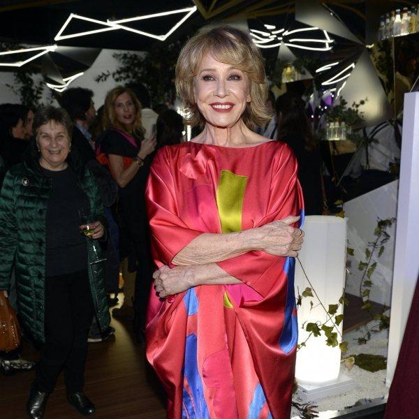 Famosos en el desfile de Ágatha Ruiz de la Prada otoño/invierno 2020-2021 en la Madrid Fashion Week