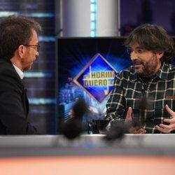 Jordi Évole con Pablo Motos en 'El Hormiguero'
