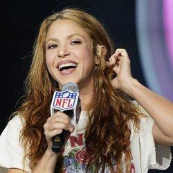 Shakira presentando su actuación en la Super Bowl 2020