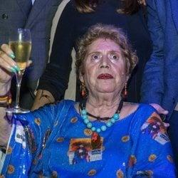 María Jiménez celebrando su 70 cumpleaños