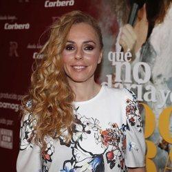 Rocío Carrasco posando en la presentación de 'Que no daria yo por ser Rocio Jurado'