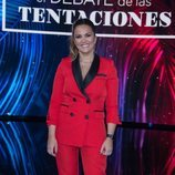 Marta López en el tecer debate de 'La isla de las tentaciones'