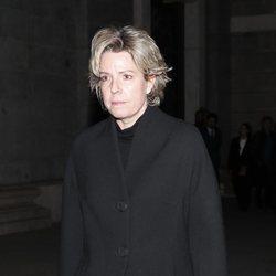 Simoneta Gómez Acebo en el funeral de la Infanta Pilar en La Almudena
