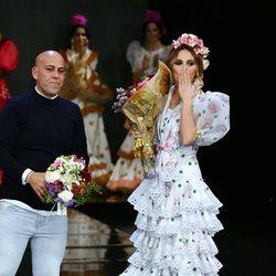 Irene Rosales con Alonso Cozar en SIMOF 2020