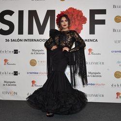 Amor Romeira desfilando en SIMOF 2020