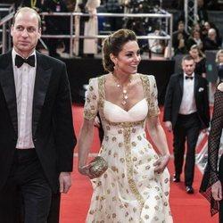 Los Duques de Cambrige en la gala de los Premios BAFTA 2020