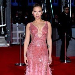 Scarlett Johansson en la alfombra roja de los Premios BAFTA 2020