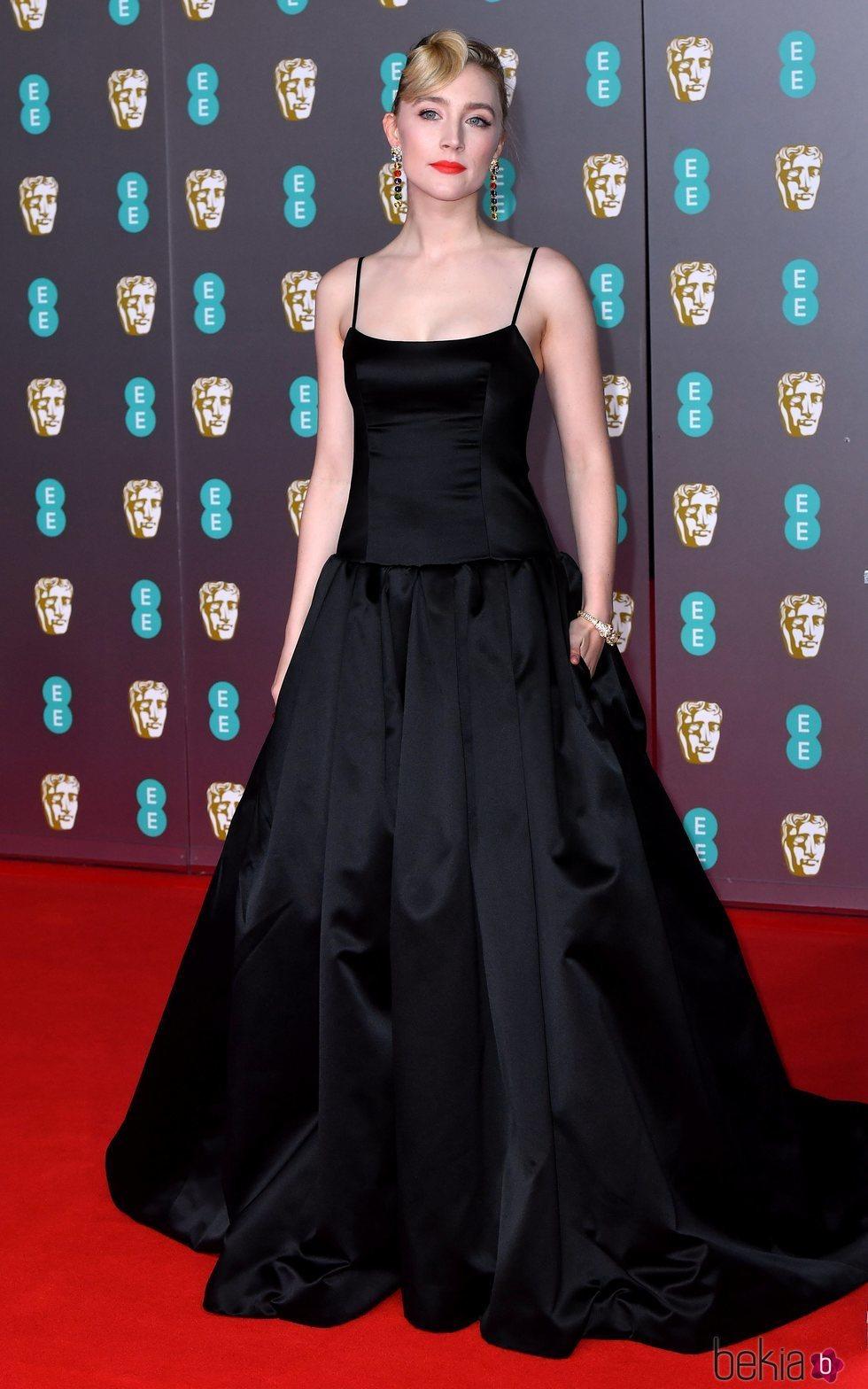 Saoirse Ronan en la alfombra roja de los Premios BAFTA 2020