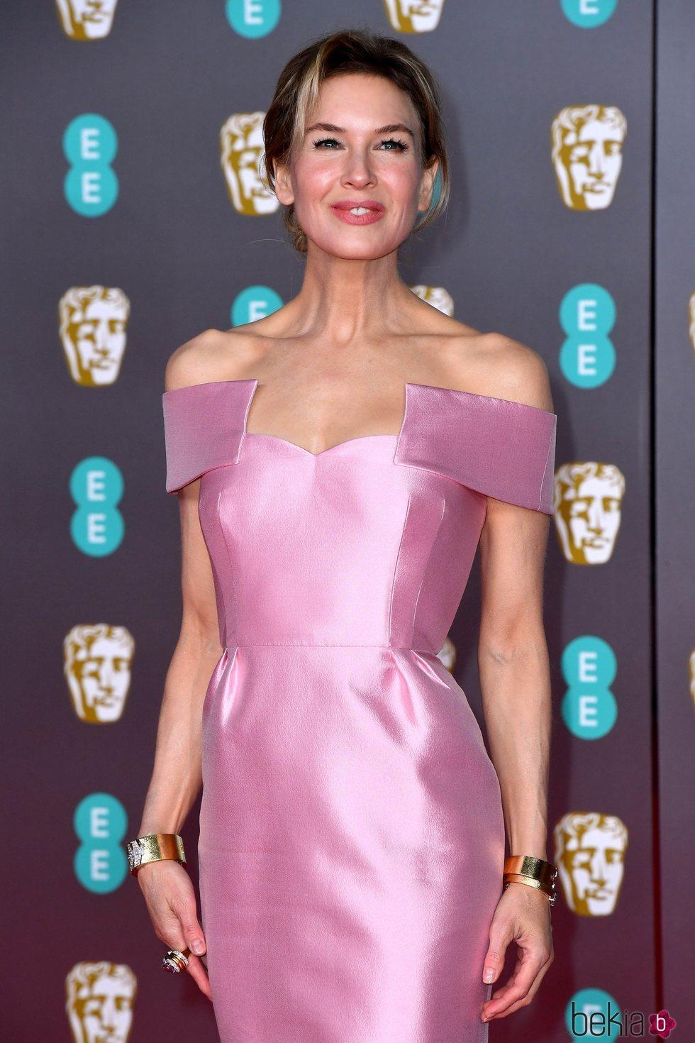Renée Zellweger en la alfombra roja de los Premios BAFTA 2020