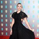 Margot Robbie en la alfombra roja de los Premios BAFTA 2020