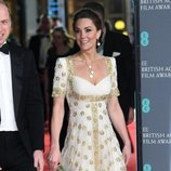 Kate Middleton en la alfombra roja de los Premios BAFTA 2020