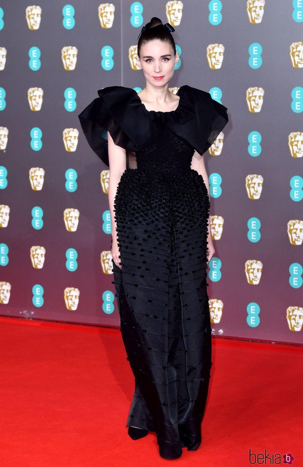 Rooney Mara en la alfombra roja de los Premios BAFTA 2020