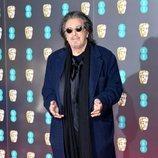 Al Pacino en la alfombra roja de los Premios BAFTA 2020