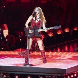 Shakira actuando en la Super Bowl 2020