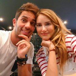 Santi Burgo y Alba Carrillo en su primera foto juntos en redes sociales